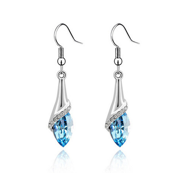 Angel tear earrings