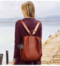 Load image into Gallery viewer, Ladies Anti-theft Backpack Bag Casual Wild Shoulder Bag