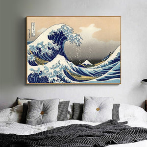 Japanese Wave Canvas