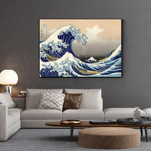 Load image into Gallery viewer, Japanese Wave Canvas