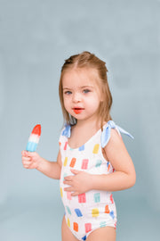 Tinsley Shoulder Tie in Popsicle