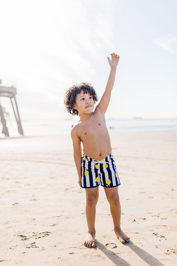 Jude Boy Board Shorts in Lemon Grove