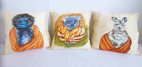 Silent Auction Cushion Covers