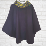 Oversized Cape/Poncho - Sleeved