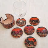 Soap-Stone Coasters Set