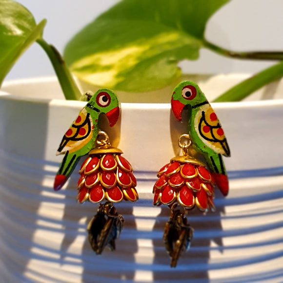 Contemporary Jhumka Earrings