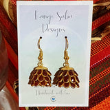 Jhumka Berry Earrings