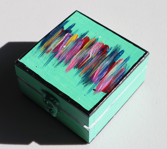 Wooden Jewellery Box (S) - Colours and Vibration
