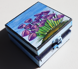 Wooden Jewellery Box (S) - Bloom