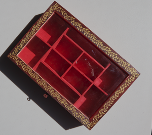 Wooden Jewellery/Storage Box (Compartmentalised)