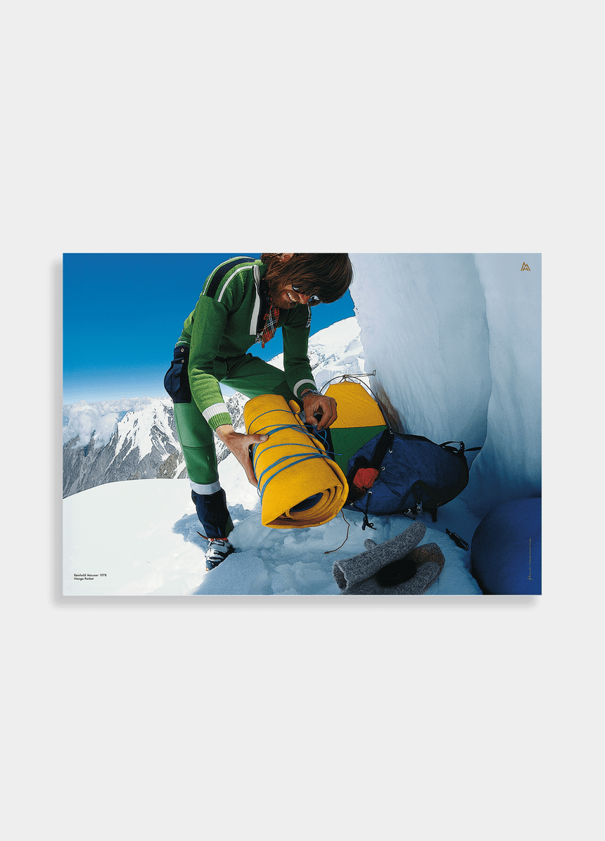 Poster - Reinhold Messner - 1980 Mount Everest Gipfel