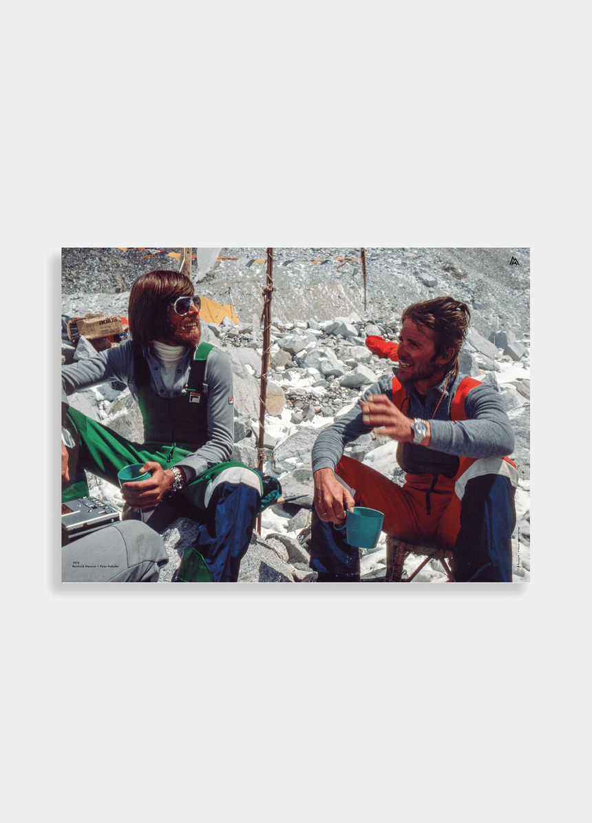 Poster - Reinhold Messner - 1978 Mount Everest mit Peter Habeler