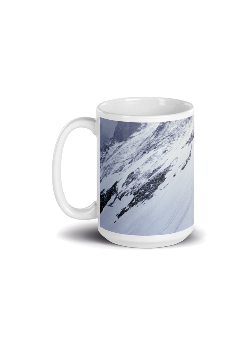 Basic Tasse - Reinhold Messner - Mount Everest Lhotse Flanke