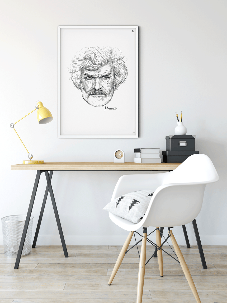 Illustration - Reinhold Messner - Portrait
