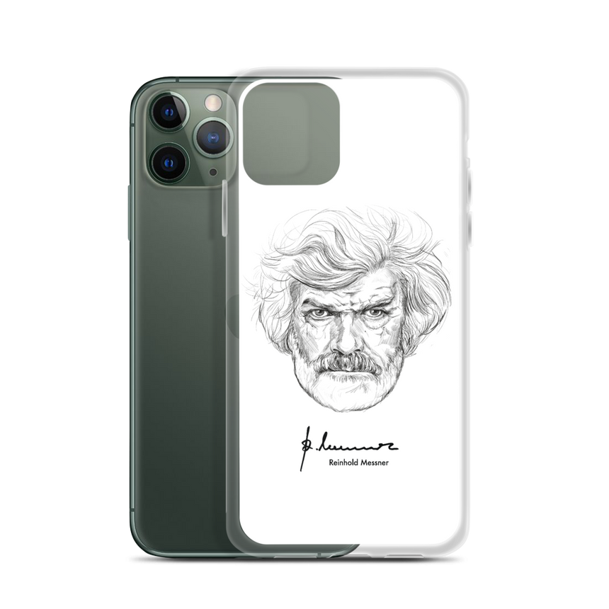 iPhone Case - Reinhold Messner - Illustration Portrait