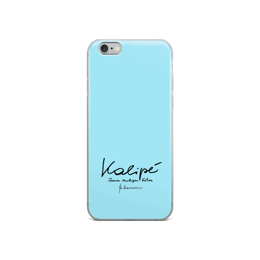 iPhone Case - Kalipé - lightblue