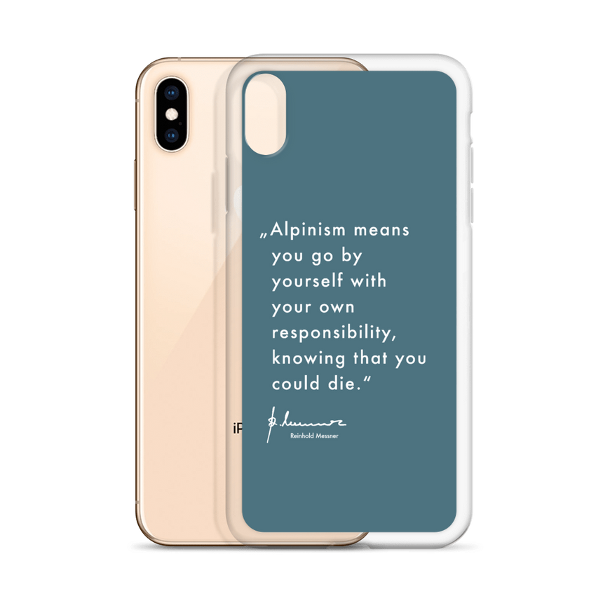iPhone Case - Alpinism means - newnavy
