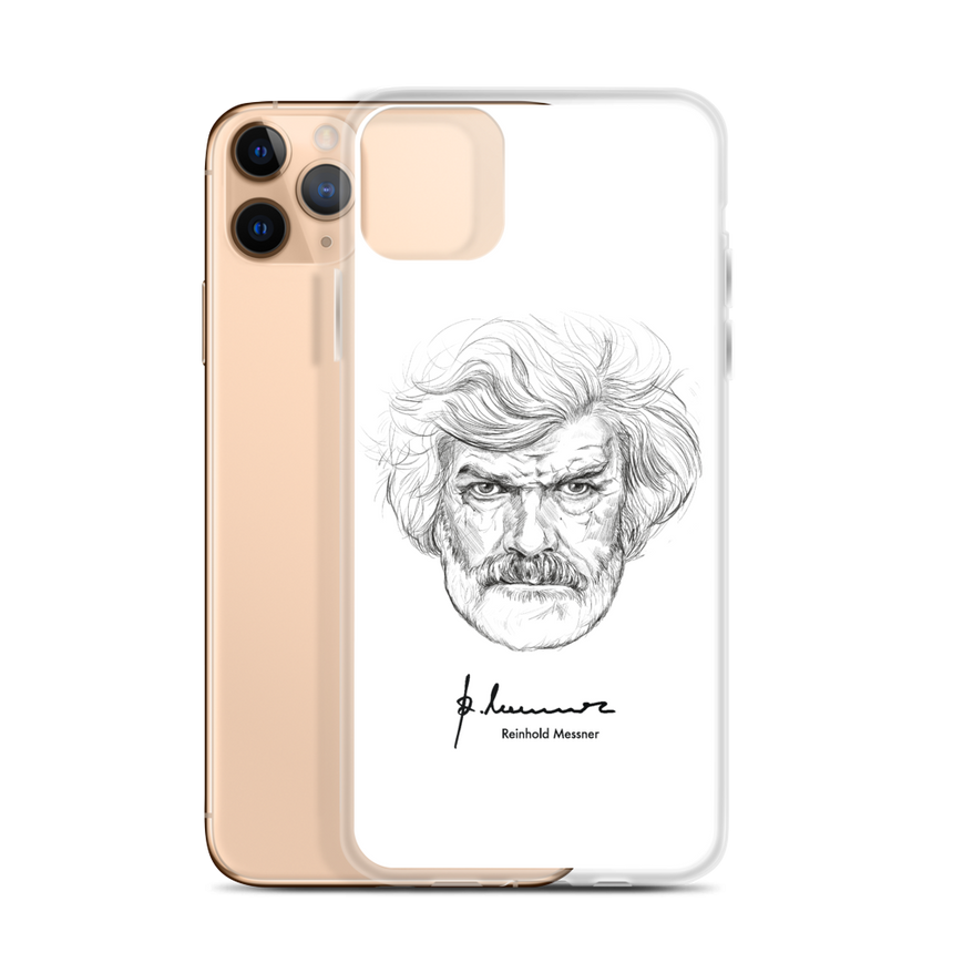iPhone Case - Reinhold Messner - K2