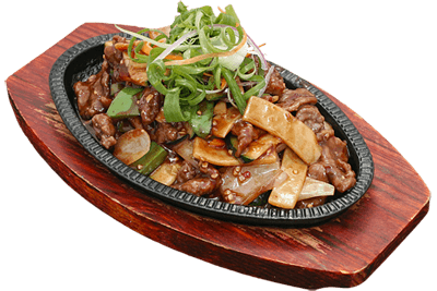 Sizzling Mongolian Beef/Chicken