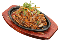 Sizzling Black Pepper Beef Strips
