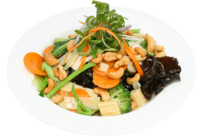 Seasonal Vegetables with Cashew Nut