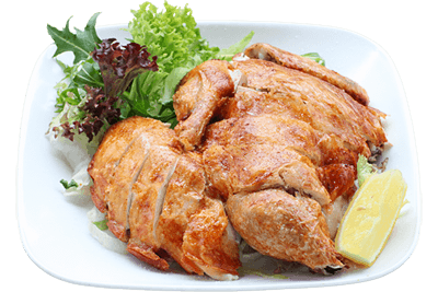 Deep Fried Crispy Skin Chicken