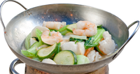 Seafood & Vegetable Hot Pot