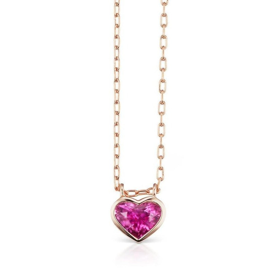 Large Heart Bezel Necklace - Limited Edition
