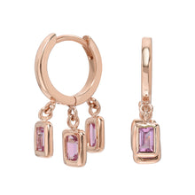 Load image into Gallery viewer, 14K Rose Gold Brick Brigade - Pink Sapphire