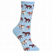 Galloping Horses Ladies Socks