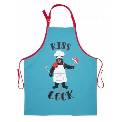 Kiss The Cook Apron by Hatley