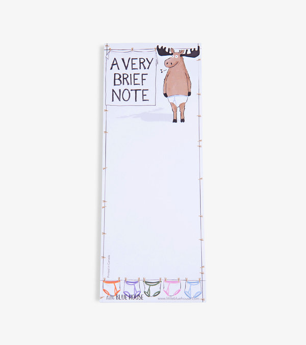 A Very Brief Note Magnetic Notepad