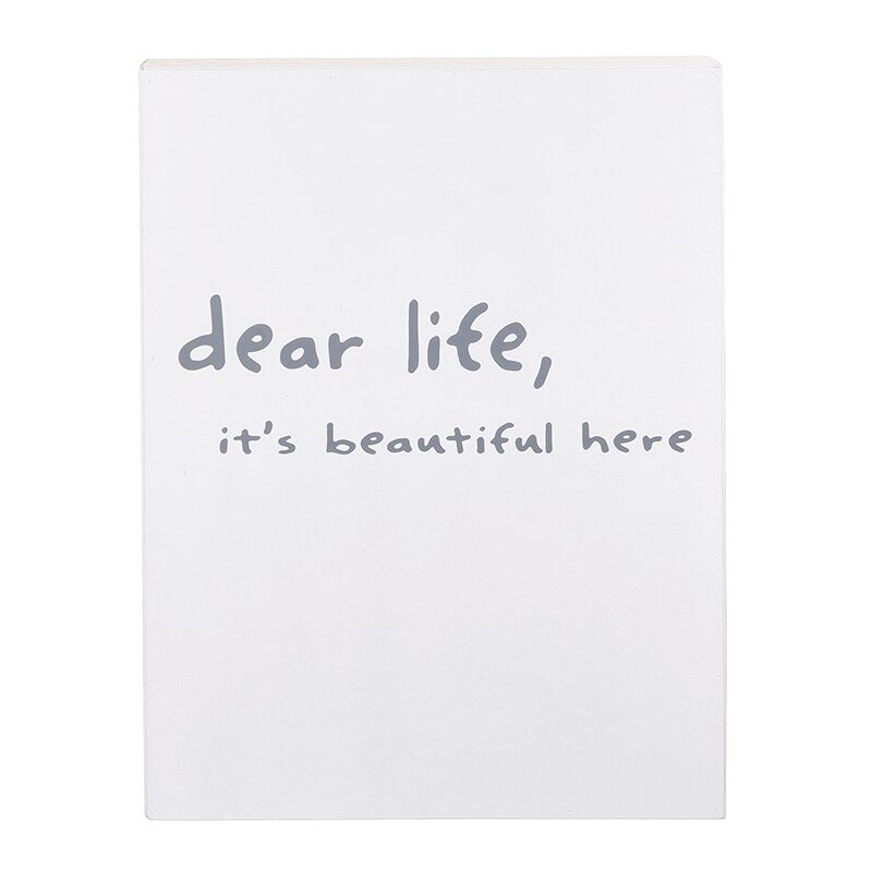 Dear Life Wall Decor
