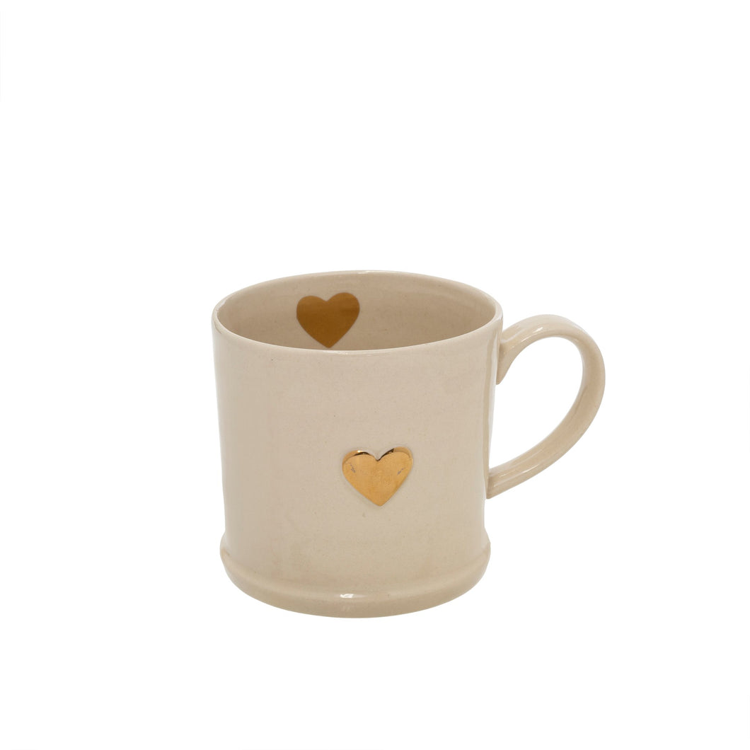 Sweetheart Mug, Gold