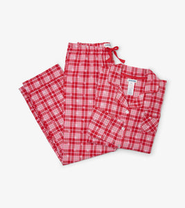 Hatley Retroplaid Ladies Pajama Set by Hatley FINAL SALE