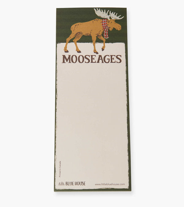Mooseages Magnetic Notepad