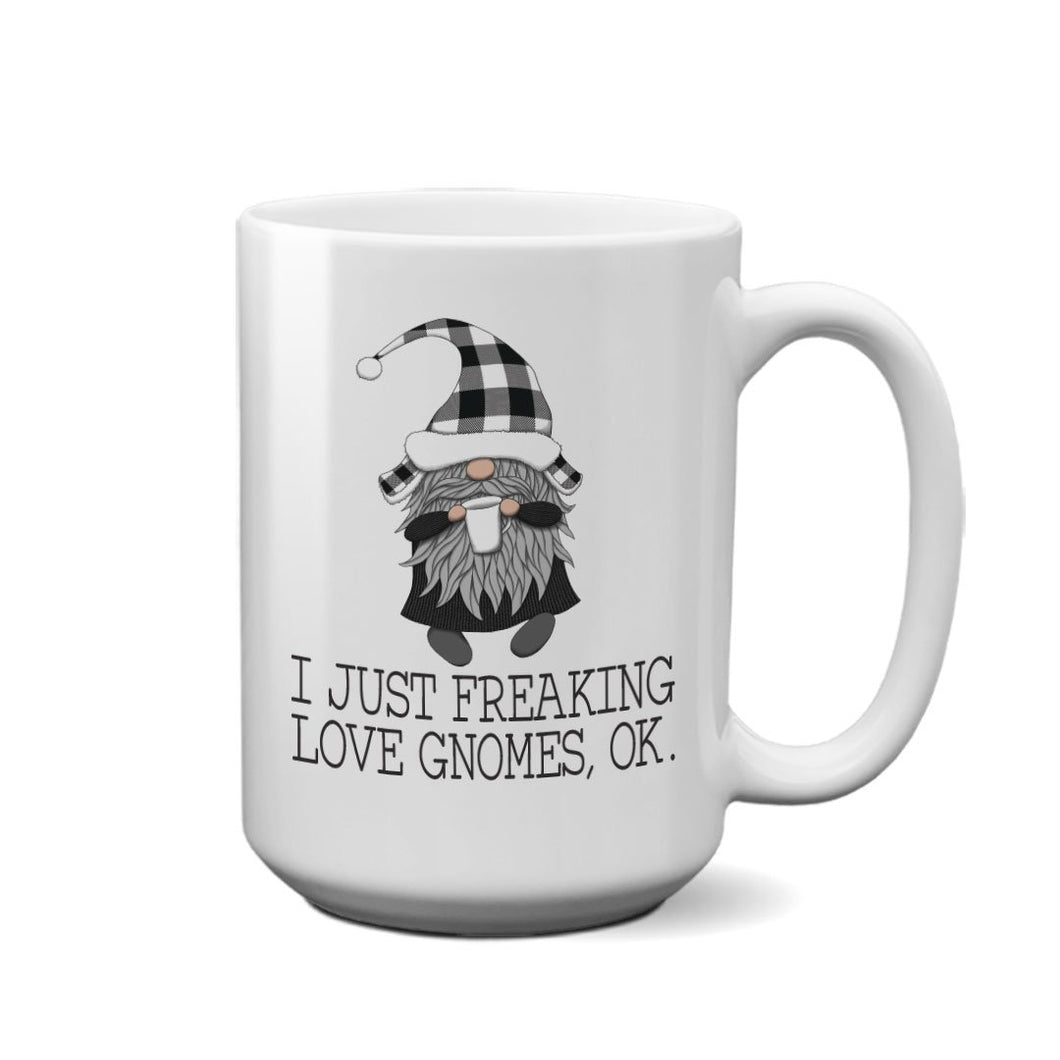 Freaking Love Gnomes Mug