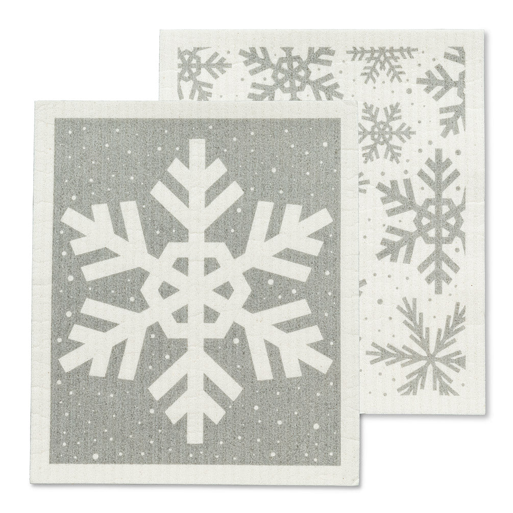 Snowflake Sweedish Dishcloth