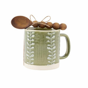 Vine Green Leaf Mug
