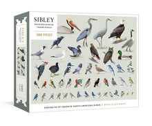 Load image into Gallery viewer, Sibley Backyard Birds Puzzle, 1000pc