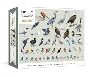 Sibley Backyard Birds Puzzle, 1000pc