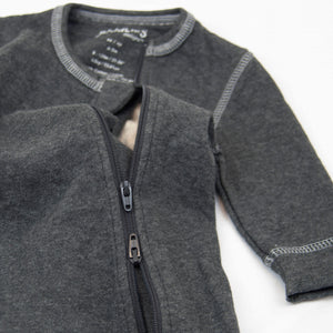 Juddles Sleeper in Charcoal Grey Fleck