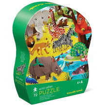 Load image into Gallery viewer, Crocodile Creek Wild Safari Puzzle
