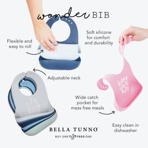 Ballet Shoes Wonder Bib by Bella Tunno