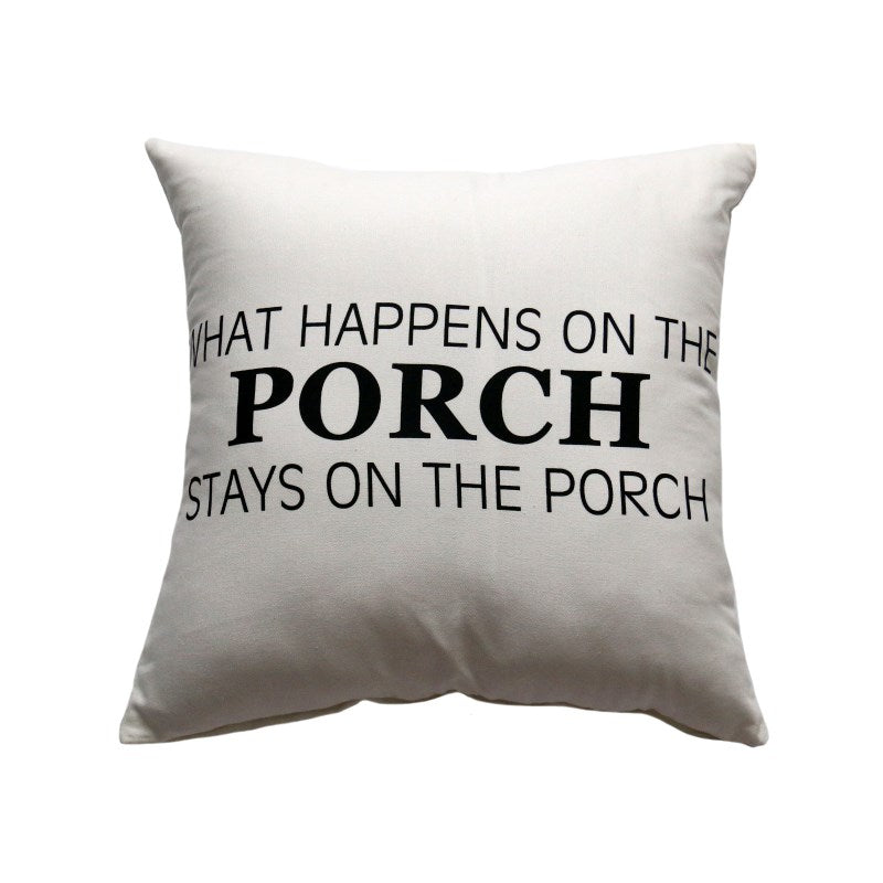 What Happens on the Porch Cushion