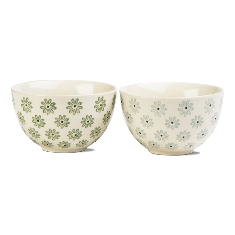Daisy Stamped Bowl, Mini