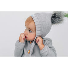 Load image into Gallery viewer, Beba Bean Faux Fur Pom-Pom Hat