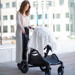 Lulujo Bamboo Swaddle Modern Collection - XO