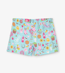 Hatley Country Living Ladies Sleep Shorts