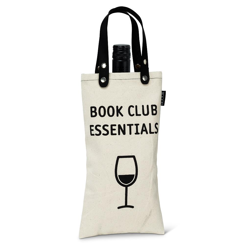 Book Club Essentials Wine Tote